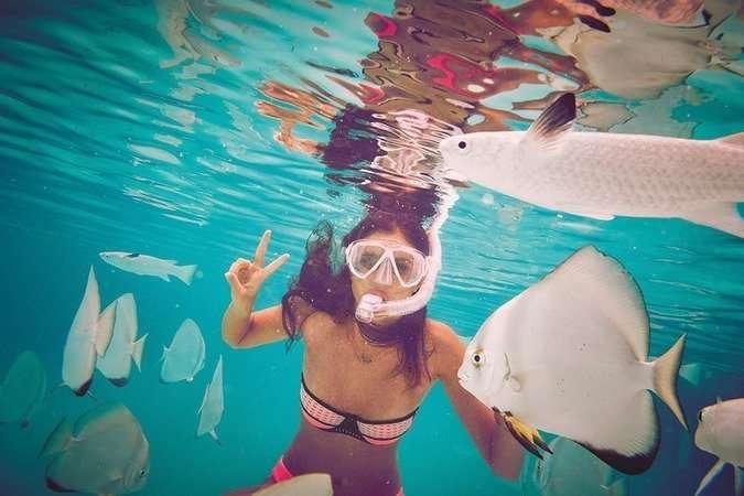 Ангелы Victoria's Secret показали новую коллекцию купальников