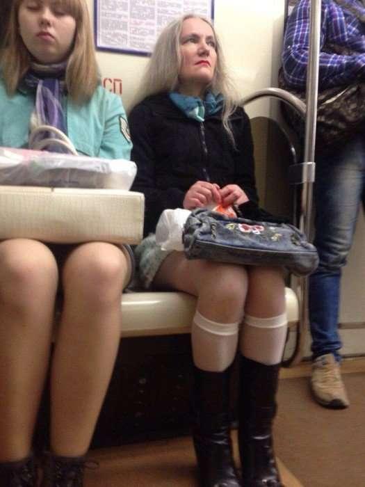 Самые отчаянные модники петербургского метро