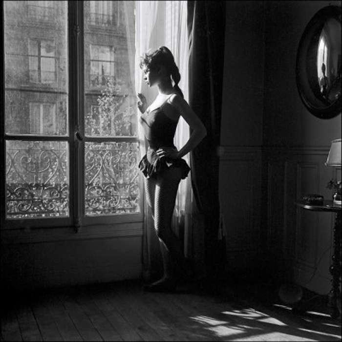 Фотосессия 18-летней Бриджит Бардо, с которой началась ее кинокарьера