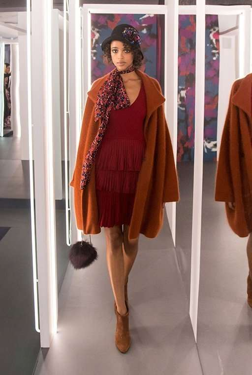 Diane von Furstenberg, осень-зима 2016/17