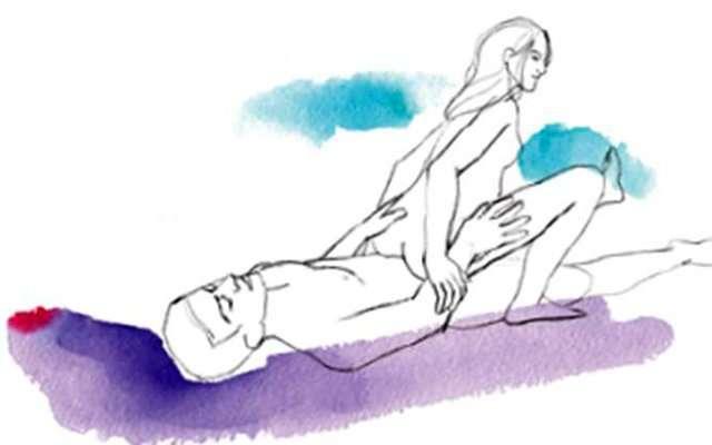 ТОП-10 поз для секса с вибратором в картинках