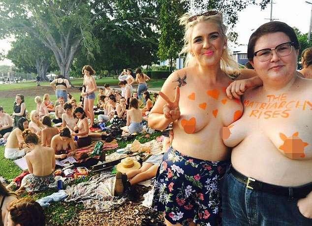 Свободу соскам - пикник в Австралии