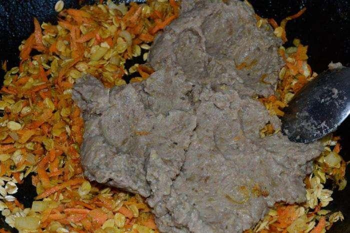 Великий пост - 2015: постный пирог из чечевицы