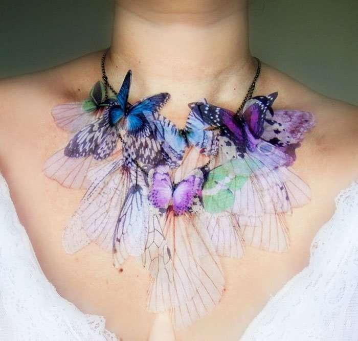Аксессуары, вдохновленные бабочками