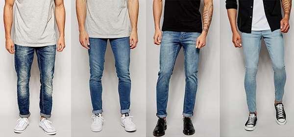 13e6580d99675b Такі джинси добре сидять на талії, а в області стегон і гомілки не  облягають. Нижній край спереду повинен утворювати гармошку на взуття  довжиною близько 3 ...